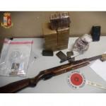 10 kg. di panetti di hashish in una sacca della spesa un arresto della Polizia