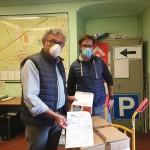 10 mila mascherine a Chivasso dalla Biogen