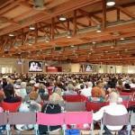 2000 Testimoni di Geova del Canavese e della Valle d'Aosta a Cameri al congresso estivo