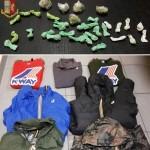 22enne arrestato per detenzione ai fini di spaccio di stupefacenti e ricettazione