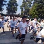 """265 studenti della media"""" Maria Montessori"""" rappresentano S. Maurizio Canavese alla """"Corsa contro la fame"""" 1"""