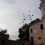 A Cuceglio i Festeggiamenti dell'Addolorata palloncini