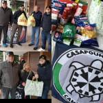 A Ivrea nuova raccolta alimentare di CasaPound nel quartiere Bellavista