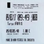 A Ivrea sul ticket del parcheggio le prime 3 cifre del numero di targa