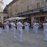 A Rivarolo la Banda della Marina Militare