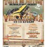 "A Villareggia ""Demolition Derby"", la  festa dei motori"