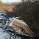 Abbandoni di rifiuti a Volpiano, intervento della polizia municipale