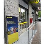 Abbattute le barriere architettoniche negli uffici Postali di San Giusto e San Raffaele Cimena