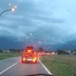 Aggiornamento maltempo riaperta la A5 tra Scarmagno e Quincinetto 1