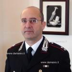 Al comando della Compagnia dei Carabinieri di Ivrea il Maggiore Guida