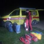 Al lavoro per salvare lo speleologo bloccato nella grotta Fiat Lux