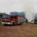 Ancora un incendio a Cuceglio