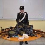 Armi e droga arrestato