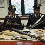 Armi e droga in casa arrestato