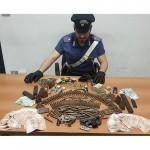 Armi illegali e refurtiva, un arresto a Gassino