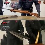 Arrestate 6 persone e sequestrate 6 armi da fuoco e relative munizioni