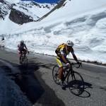 Arrivo del Giro a Ceresole tutto pronto 1