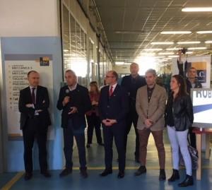 C.IA.C. inaugurata a Valperga la nuova isola robot 1
