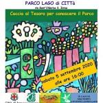 Caccia al Tesoro al Parco Lago di Città a Ivrea