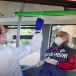 Carabinieri Nas 693 controlli sui mezzi di trasporto pubblico, positivi al virus 32 tra bus e treni locali