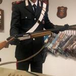 Carabinieri sequestrano armi e munizioni, un arresto e una denuncia a Volpiano