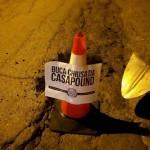 CasaPound chiude alcune buche stradali a Ivrea e Rivarolo