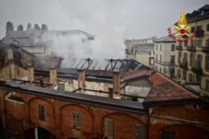 Cavallerizza dibattito sull'incendio in Sala Rossa 2