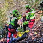 Cercatore di funghi soccorso a Cumiana