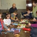 Cinque bambini alla Scuola del Rame di Alpette