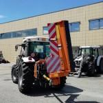 Cinque nuovi trattori per la manutenzione stradale
