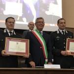 Cittadinanza onoraria di Chivasso ai Carabinieri e al Maggiore Ferrara