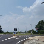 Conclusi i lavori della nuova rotatoria sulla SP 41 all'ingresso di Agliè