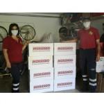 Conclusione della distribuzione del cibo per gli amici a quattro zampe donato dalla Morando Pet Food