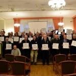 Consegnata una targa di riconoscimento alle 107 società ultracentenarie piemontesi