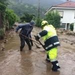 Continua a Bussoleno il lavoro della Protezione Civile