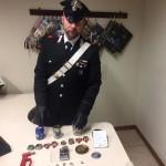 Controlli antidroga dei Carabinieri a scuola