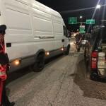 Controlli dei Carabinieri al Traforo del Frejus