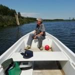 Controlli sulla pesca al Lago di Candia 1