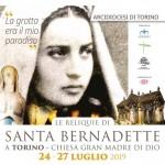 Dal 24 al 27 luglio le reliquie di Santa Bernadette alla Gran Madre di Torino