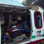 Dall'11 ottobre a Rivarolo atterraggio in notturna degli elicotteri del 118