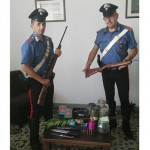 Due arresti per detenzione di ami ed esplosivi