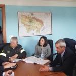 Esercitazione di protezione civile a Volpiano, simulato un incidente