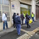 Fahrenheit 451 Piemonte inaugura la sede con una distribuzione alimentare