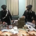 Fermato durante un controllo un ambulante trasportava 250 gr. di cocaina