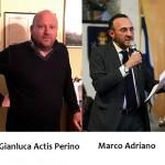 Gianluca Actis Perino e Marco Adriano responsabili organizzativo e storico-artistico del Carnevale di Ivrea 2019