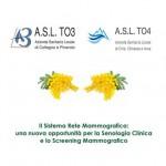 Giornata della Donna ASL TO3 e ASL TO4 insieme per la 3^ Conferenza sulla Senologia Clinica e lo Screening Mammografico