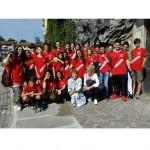 Gli alunni delle Medie visitano il rifugio antiaereo di Ivrea 1