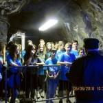 Gli alunni delle Medie visitano il rifugio antiaereo di Ivrea