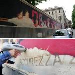 Gli studenti dell'Università di Torino restaurano il murale dedicato alle vittime del rogo alla Thyssen 1