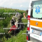 Gravissimo incidente stradale a San Giusto due feriti
